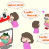 Looks nice, Looks happyなどの英語の意味と使い方