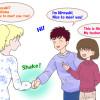 家族・友達を英語で紹介