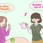 No thank youという英語より感じのいい断り方があるんです