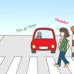 海外(英語圏)の横断歩道の渡り方
