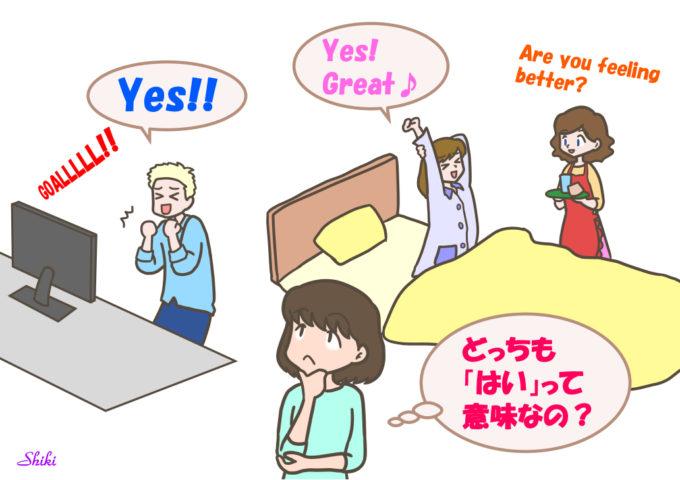 実はyesは「はい」という意味じゃない!?   楽しく英語を知るブログ